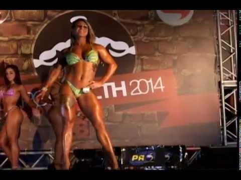 IFBB CHAMPION Rio de Janeiro 2014 , estreia de Sara Bianca na Wellness