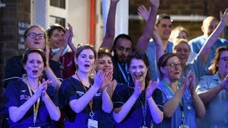 video: Clap For Our Carers: How Britons thanked NHS with a second round of applause