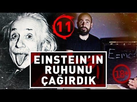 EİNSTEİN 'IN RUHUNU ÇAĞIRDIK ! (+18) - PARANORMAL OLAYLAR YAŞADIK