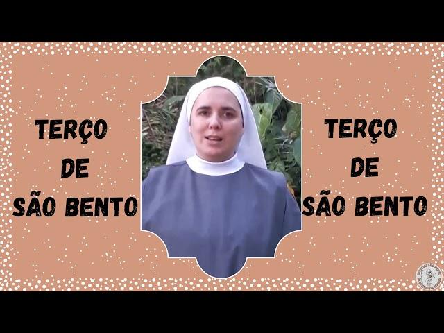 TERÇO DE SÃO BENTO