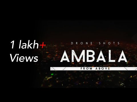 Ambala City from above | Drone shots