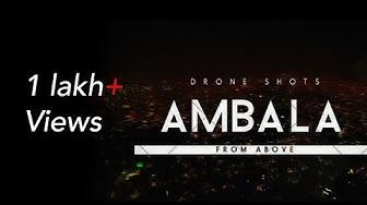 Ambala City from above   Drone shots   Film by Aditya Punj