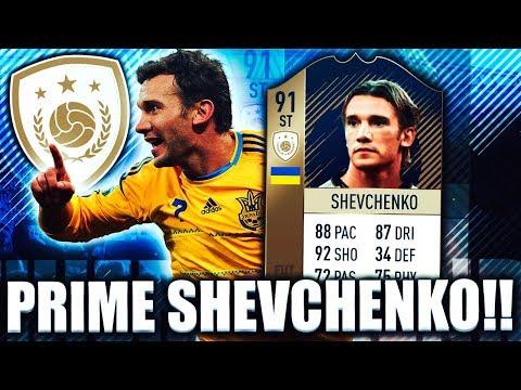 PRIME ICON SHEVCHENKO 91! WORTH DOING THE SBC? FIFA 18 ULTIMATE TEAM