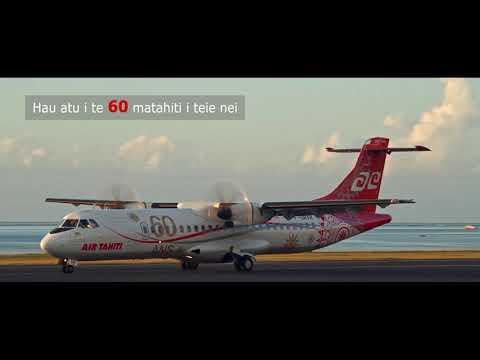 Air Tahiti à votre service (version tahitienne)