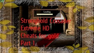 Stronghold Crusader Extreme HD Cheats for gold No Commentary