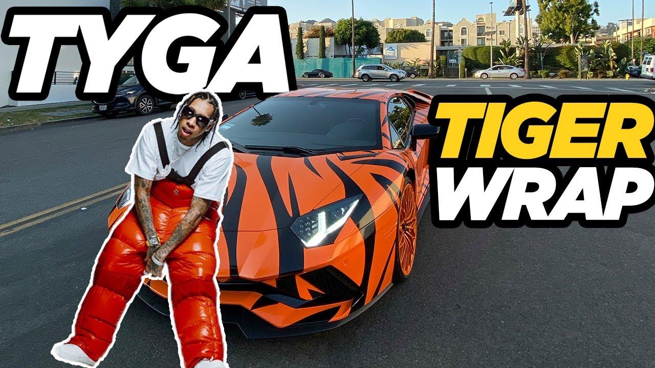 Download Tyga's TIGER Lamborghini Aventador, RDB Foam Cannon.