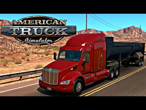 Neper Autobahna me Kamion - American Truck Simulator - SHQIPGaming