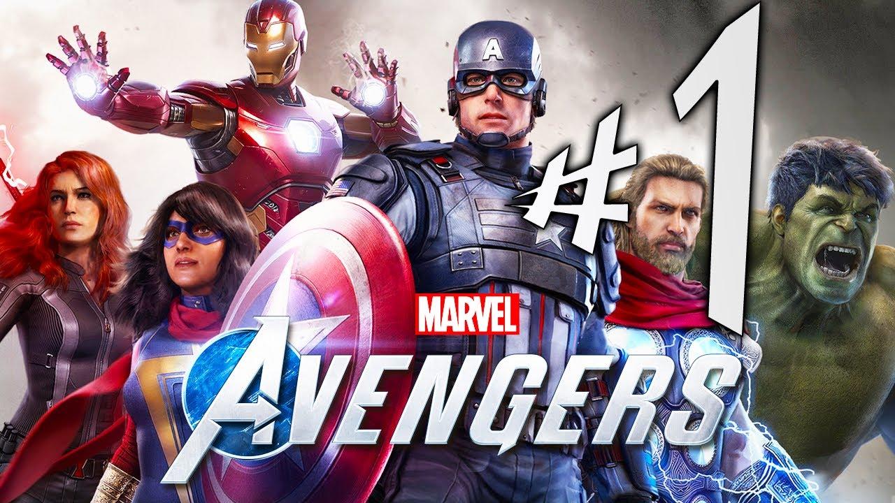 Marvel Avengers – Parte 1: A Queda dos Vingadores!!! [ Xbox One X – Playthrough 4K ]