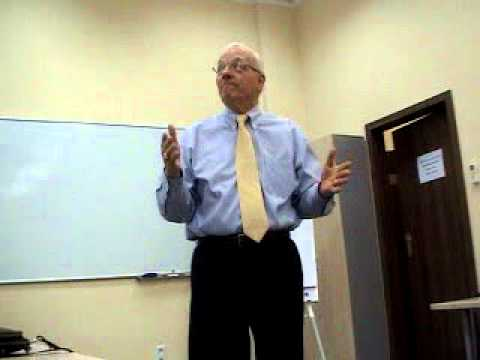 American Psychologist (USA): Lecture on Leadership by Wayne Morris, part-1