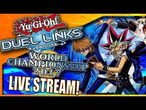 [LIVE] Yu-Gi-Oh! Duel Links - 2017 World Championship Qualifiers RANKED PVP! [Helix101 Gaming]