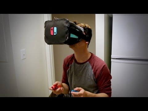 Building a VR Headset for the Nintendo Switch