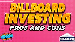 Video Billboard Investing - Pros and Cons Investing in Billboards - REIClub.com download MP3, 3GP, MP4, WEBM, AVI, FLV Agustus 2018