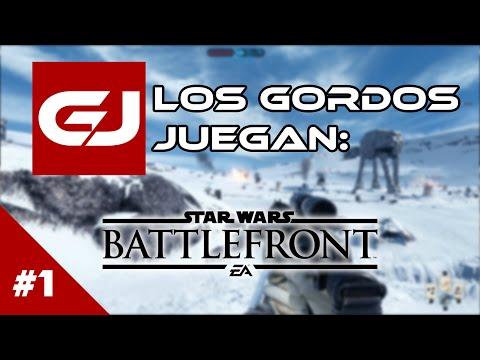 Beta Star Wars: Battlefront: Los Gordos Juegan - Parte 1 | 3 Gordos Bastardos