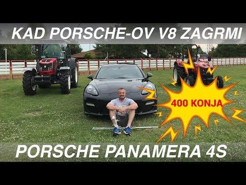 Najbolja sportska limuzina na svetu: Porsche Panamera 4s