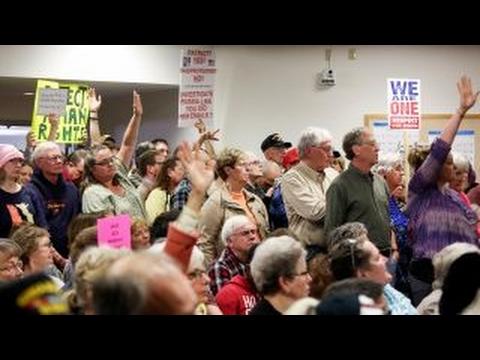 GOP facing town hall anger