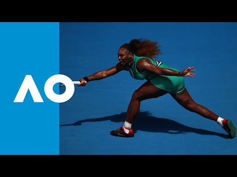 Tatjana Maria v Serena Williams match highlights 1R  Australian Open 2019