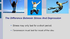 Difference Between Stress and Depression