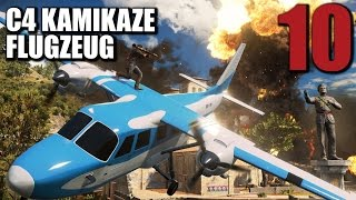 Just Cause 3 Gameplay German #10 C4 KAMIKAZE FLUGZEUG | Let