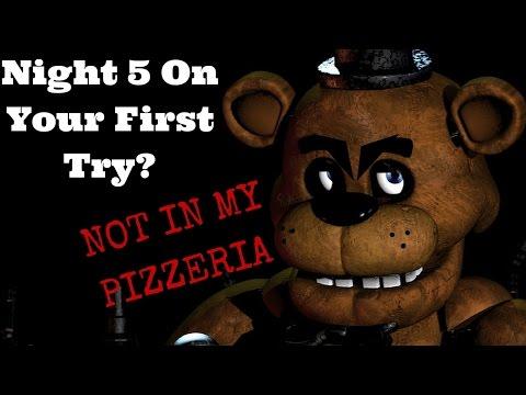 Close But No... Minimum Wage Check? | Five Nights at Freddy's Night 4