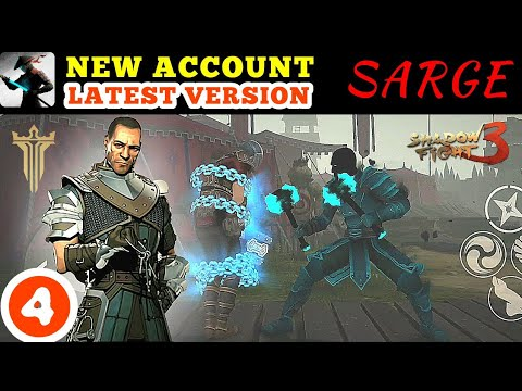 Shadow Fight 3 changes of chapter 1 | new Sarge defeated | walkthrough part 4