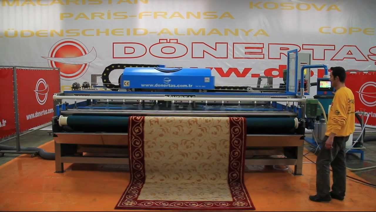 Full Automatic Carpet Rug Washing Machine Youtube