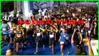 Navy Half Marathon 21 km (Aircraft Carrier run) flagged off in Mumbai
