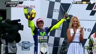 Rossi Winner - Highlight MotoGP Silverstone 2015
