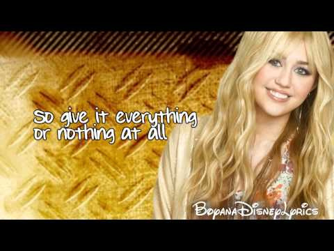 Hannah Montana  Ordinary Girl Lyrics  HD