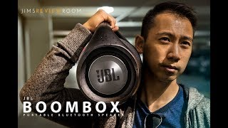 JBL Boombox REVIEWED - SO XTREME !! thumbnail