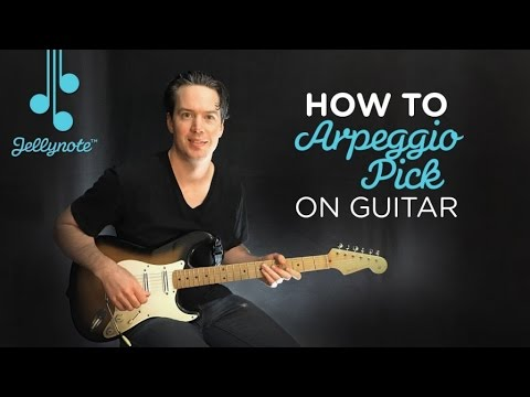 "Arpeggio Picking ""Don't Cry"" MainRiff - Guns N' Roses (Jellynote Lesson)"