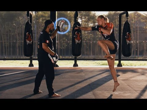 Valentina Shevchenko Teaches Her Signature Moves