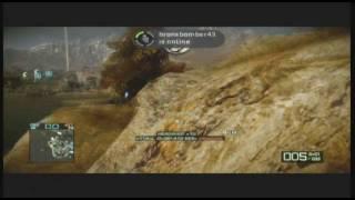 Battlefield BC 2 Fun Tactics- The Rex