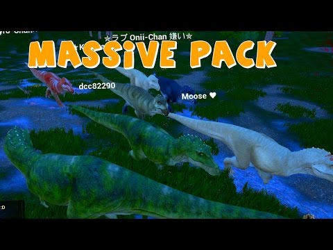 T-REX ARMY   The Isle Trex Army   Gameplay   Biggest Rex Herd ( Early Access Gameplay )