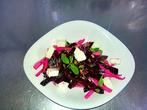Салат со свеклой и грушей!!! Salad With Beets And Pears!!!