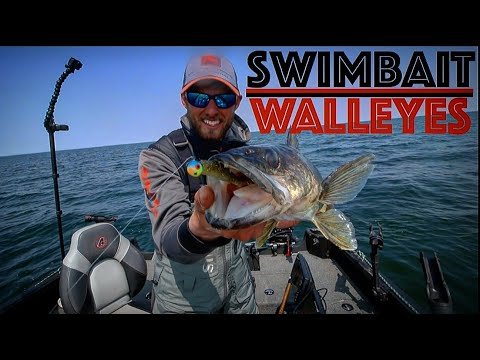 How To Fish Swimbaits For Summer Walleyes - Walleye Fishing
