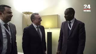 Հայաստանի և Ռուանդայի արտաքին քաղաքական գերատեսչությունների ղեկավարների հանդիպումը