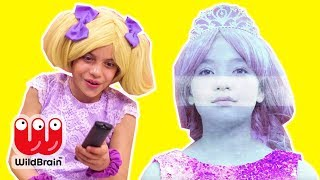 Magic TV Remote 📺 Esme Controls Olivia - Princesses In Real Life | WildBrain Kiddyzuzaa