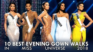 BEST EVENING GOWN WALKS IN MISS UNIVERSE 2018
