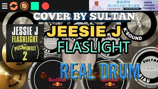 "Cover by (sultan anugrah) | jessie flaslight | ""REAL DRUM"""
