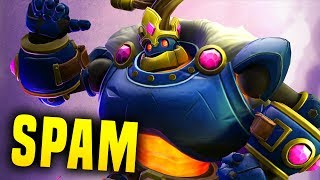 The Spam King! | Paladins Bomb King Gameplay & Build