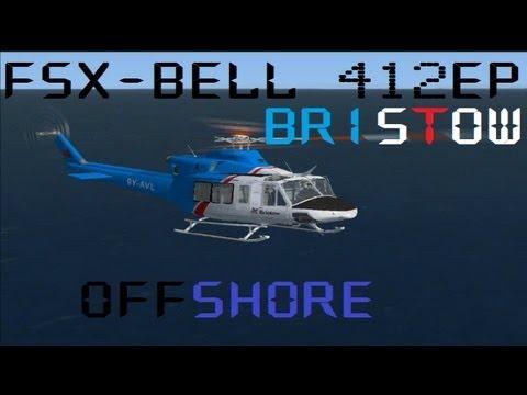 FSX - Bell 412 Bristow Offshore