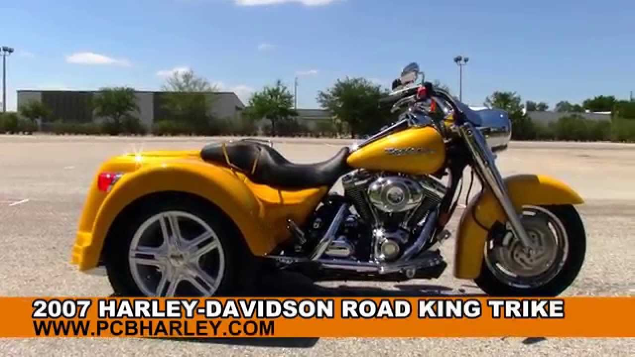 Used Harley Davidson Trike 3 Wheelers Motorcycles For Sale Youtube