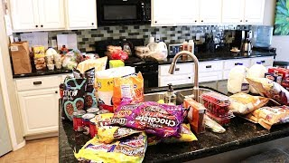 GROCERY HAUL ON A BUDGET // FAMILY OF 4 // CLEANING MOTIVATION