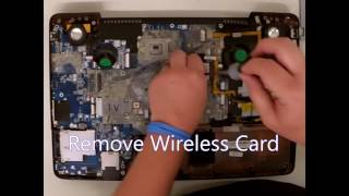 Toshiba Qosmio X500 X505 Disassembly -  Video Card, CPU &  Motherboard, Full Teardown & Disassemble