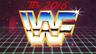 TEW 2016: WWF 1991 #1 - Setting Up & Week 1