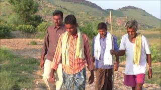 Farm pond construction _ICRISAT _ Digital Green_ SAMATHA_Anantapur_ A.P