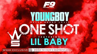 "YoungBoy Never Broke Again & Lil Baby - ""One Shot "" (Official Lyric Video - WSHH Exclusive)"