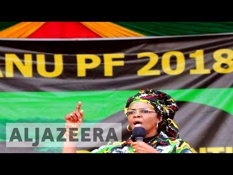 Grace Mugabe granted immunity after leaving S Africa