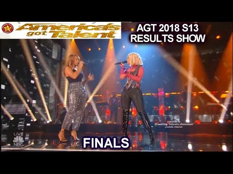 Bebe Rexha & Glennis Grace Perform Meant to Be | Finale America's Got Talent AGT