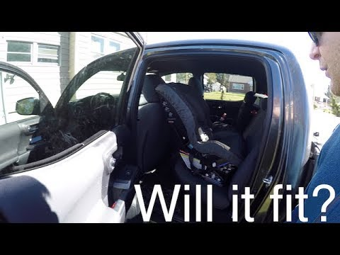 Will A Rear Facing Carseat Fit In The Back Of A 3rd Gen